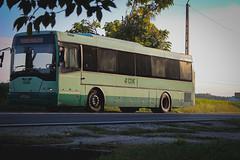 IAW-003 (Péter Vida) Tags: bus road grass sky tree