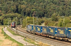 013_2018_09_26_Harrbach_0445_052_DB_Mai-Spessart-Express ➡️ Würzburg_ 6193_827_Rpool_mit_LKW_Walter_KV ➡️ Gemünden (ruhrpott.sprinter) Tags: ruhrpott sprinter deutschland germany allmangne nrw ruhrgebiet gelsenkirchen lokomotive locomotives eisenbahn railroad rail zug train reisezug passenger güter cargo freight fret bayern maintal atlu bb byb db dispo eloc evb hctor lm öbb rpool sbbcargointernational siag slg sncb stock 0185 0425 0445 0620 1016 1116 1214 1428 1440 242 3202 6152 6182 6185 6186 6187 6189 6193 711 7186 es64u2 es64f4 logo natur outddor harrbach