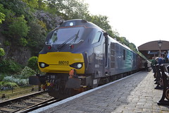 Direct Rail Services 88010 (Will Swain) Tags: severn valley railway spring diesel gala 18th may 2018 svr preserved heritage direct rail services 88010 class 88 010 williamsdigitalcamerapics101 train trains railways transport travel uk britain vehicle vehicles england english