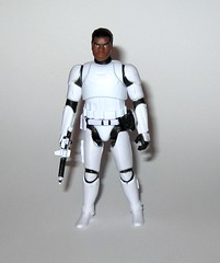 finn fn-2187 star wars the force awakens build a weapon desert mission basic action figure hasbro 2015 d (tjparkside) Tags: finn fn 2187 desert mission ep episode vii 7 seven tfa basic action figure figures 5 poa points articulation star wars 2015 2016 hasbro stormtrooper first order 1st empire imperial soldier baw build weapon buildaweapon blaster helmet traitor disney stormtroopers blood rifle