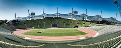 Olympiastadion (Sean Batten) Tags: munich bavaria germany de olympiastadion panorama panoramic city urban nikon d800 35mm stadium olympics seats seating