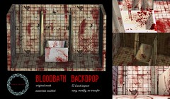 {ID} Bloodbath Backdrop (Inner Demons) Tags: innerdemons {id} original mesh halloween blood bloodbath backdrop background photo bathroom curtains bathtub ceramic sl secondlife tsa thesecretaffair thesecretaffairsl bath tub