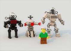 Robots by Robert Kinoshita (Swijak) Tags: lego space robot robbie