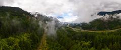 Cloudland (John Westrock) Tags: landscape nature djimavicpro2 clouds panoramic pano i90 trees forest mountains sky cloudy pacificnorthwest northbend washington unitedstates us johnwestrock