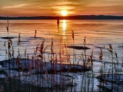 My sunsets (3) (Ultreya Photo) Tags: hdrart hdr happy ciao lakegarda lake italy lago reflection parsaggio sunset acqua cielo