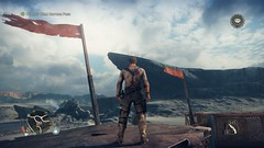 Mad Max_20180927154455 (Livid Lazan) Tags: mad max videogame playstation 4 ps4 pro warner brothers war boys dystopia australia desert wasteland sand dune rock valley hills violence motor car automobile death race brawl scenery wallpaper drive sky cloud action adventure divine outback gasoline guzzoline dystopian chum bucket black finger v8 v6 machine religion survivor sun storm dust bowl buggy suv offroad combat future