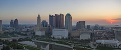 Morning Panorama (player_pleasure) Tags: sunrise columbus cityscape downtown mavicpro magicpro2 drone architecture