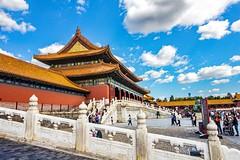 Forbidden city (werner boehm *) Tags: wernerboehm hongkong macao shanghai peking beijing citascape stadt thegreatwall chinesische mauer