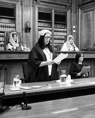 Re-Enactment of the Trial of William Burke and Helen MacDougal (Joe Son of the Rock) Tags: advocate burkeandhare williamburke helenmacdougal solicitor qc highcourtofjusticiary trial lawyer court edinburgh lordadvocate highcourt reenactment court9 parliamenthouse monochrome blackandwhite supremecourts ef1740mmf4l