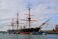 WARRIOR (Ugborough Exile) Tags: portsmouth warrior hampshire hants england a6300 sony 2018 ships