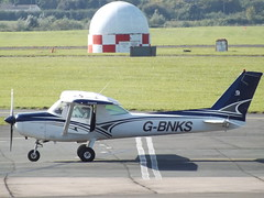 G-BNKS Cessna 152 (APB Leasing Ltd) (Aircaft @ Gloucestershire Airport By James) Tags: gloucestershire airport gbnks cessna 152 apb leasing ltd egbj james lloyds