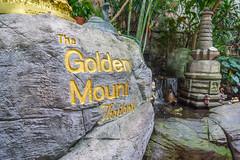 The Golden Mount Thailand Engraving