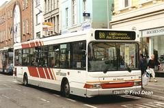 Bus Eireann DP9 (99C22536). (Fred Dean Jnr) Tags: buseireannroute208a cork dennis dart plaxton pointer dp9 99c22536 stpatricksstreetcork september2001 buseireann t384pnv