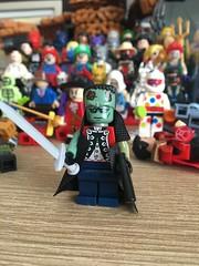 Frankenstein, Agent of S.H.A.D.E. Moc (mattyjory) Tags: frankensteinagentofshade minifigure minifigs bricks custom dccomics dc moc lego