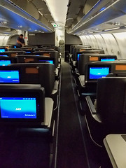 20181003_212850 (jaglazier) Tags: 10318 2018 a330 airplanes businessclass ordtoarn october sas sk946 seats cabins copyright2018jamesaglazier interiors chicago illinois unitedstates
