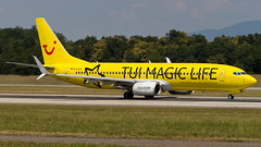Boeing 737-8K5(WL) D-ATUG TUIfly - TUI Magic Life Livery (William Musculus) Tags: airport spotting basel mulhouse freiburg euroairport flughafen eap bsl mlh lfsb datug tuifly boeing 7378k5wl tui magic life livery special scheme x3 737800