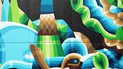 - Detail Mural Watergeusplein Rotterdam - (Jacqueline ter Haar) Tags: mural watergeusplein rotterdam iameelco streetart