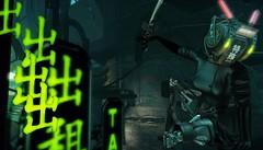 TAXI! (tralala.loordes) Tags: tralalaloordes tralala secondlife sl avatar virtualreality neojapanevent neojapan cyber futurism cyberneticlegs bauhausmovement butanik83helmet amayadress azoury desseinlegs maai ninja taxi taxistand hangarsliquide cyberpunksim cyberpunk roleplay japanese scifi sciencefiction