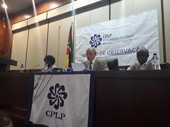 Conferência de Imprensa - Comunicação Preliminar de Constatações (15) (Comunidade dos Paises de Lingua Portuguesa) Tags: cplp moçambique observação eleições autárquicas