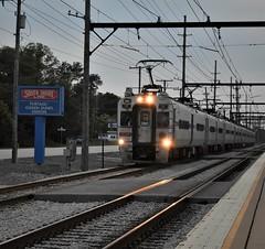 South Shore Line (ryanstuart1) Tags: south shore line railroad railway portage in chicago il intercity rail passenger train trains railroads emu electric multiple unit station freight