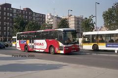 N 312-27 000103 (chausson bs) Tags: badalona empresacasas casas autobuses autobusos buses pegaso castrosua eurorider29 2000