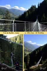 Ponte Tibetano - Italy! (Biagio ( Ricordi )) Tags: rabbi ponte tibetano montagna paesaggio trentino italy
