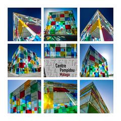 Centre Pompidou (Olivier Faugeras) Tags: malaga andalousie spain espagne andalousia andalucía andalucia