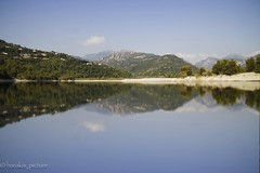 Lac du Broc (harakis picture) Tags: france paca carros sony a7 lac water lake longexposur reflection reflet greatphotographers onlythebestofflickr contactgroups natureandpeopleinnature