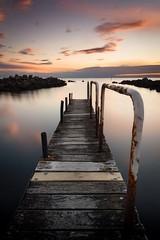 New Timber (Gary Eastwood) Tags: jetty sunset cloudsstormssunsetssunrises clouds ocean longexposure nisifilters nikond750 nikon