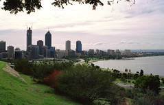 Perth City From King's Park (Serendigity) Tags: view morning westernaustralia wa australia city perth kingspark highrise au