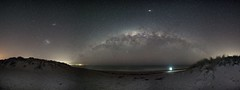 Sea Change (Steve Paxton WA) Tags: milkywaybow beach seaside sea stars starphotos panorama westernaustralia