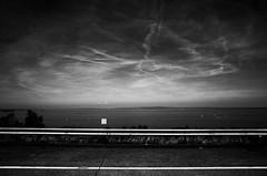 The sky is drawing (stefankamert) Tags: sky landscape lakeconstance bodensee lines lake clouds water grain mood light blackandwhite blackwhite noir noiretblanc street tones ricoh gr grii