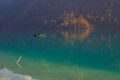 Autumn fisherman ... (milance1965) Tags: fischen fisch angel see weissensee kärnten karintia austria österreich wasser berg bot schiff canon canon6d 6d sigma sigma2870 herbst autumn colors farbe herbstcolors