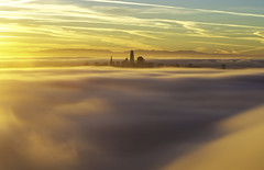 Cloud City Part 2 (Omnitrigger) Tags: fog city sanfrancisco sf bay area karl sunrise dawn clouds
