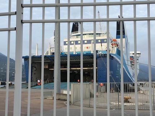 Kalliste departs en direction de Marseille