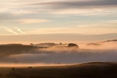 Lever du soleil, Marchastel, Lozére (lyli12) Tags: leverdesoleil sun paysage landscape lozère aubrac languedocroussillon brume mist fog france nikon d7500 ciel