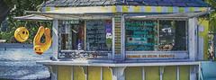 Order Here (Paul B0udreau) Tags: portdover canada d5100 layer nikkor1855mm nikon nikond5100 ontario paulboudreauphotography summer summertime icecream shop booth hut panocrop happyface