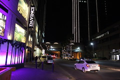 Sandton Streets at Night (Rckr88) Tags: sandton streets night sandtonstreetsatnight street nights lights light road roads johannesburg southafrica south africa building buildings architecture tower towers skyscrapers skyscraper sky skyline city cities