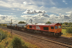 66783_2018-09-24_Colton_9792a (Tony Boyes) Tags: class 66 66783 the flying dustman gbrf colton