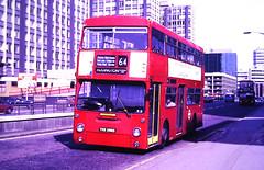 Slide 122-50 (Steve Guess) Tags: croydon surrey greater london england gb uk bus transport dms daimler fleetline thx588x route64