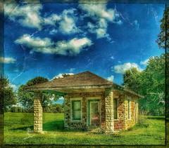 No service... (Sherrianne100) Tags: vacant rural abandoned deserted servicestation missouri ozarks