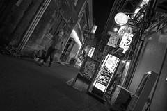 SLANT LOOK (ajpscs) Tags: ©ajpscs ajpscs japan nippon 日本 japanese 東京 tokyo city people ニコン nikon d750 tokyostreetphotography streetphotography street seasonchange summer natsu なつ 夏 2018 shitamachi night nightshot tokyonight nightphotography citylights tokyoinsomnia nightview dayfadesandnightcomesalive alley strangers urbannight attheendoftheday urban othersideoftokyo walksoflife urbanalley tokyoscene anotherday monochromatic grayscale monokuro blackwhite blkwht bw blancoynegro blackandwhite monochrome streetoftokyo sidewalk slantlook