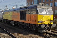 60076 6N87 (Rob390029) Tags: colas rail gbrf class 60 60076 newcastle central railway station ncl