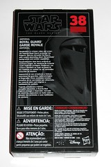 star wars the black series 6 inch action figure #38 royal guard return of the jedi red and black packaging hasbro 2016 misb 2b (tjparkside) Tags: royal guard emperors 38 star wars black series 6 inch action figure return jedi red packaging hasbro 2016 robe robes emperor palpatine blaster pistol blasters pistols holster episode vi six rotj