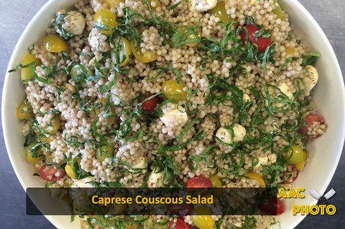 "Caprese couscous • <a style=""font-size:0.8em;"" href=""http://www.flickr.com/photos/159796538@N03/45083403781/"" target=""_blank"">View on Flickr</a>"