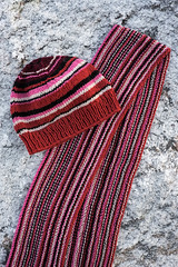 Hat to match a scarf (Winterbound) Tags: knitting handknitted handmade hat