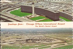 ORD35 (By Air, Land and Sea) Tags: airport postcard ord chicago illinois ohareinternationalairport aircraft airplane airline