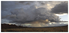 Moab_0981 (Thomas Willard) Tags: utah sky rain dawn desert weather clouds light sunrise