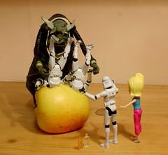 283 - 365 revenge (horsesqueezing) Tags: clonetroopers vogon toys 365 revenge apple