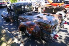 1940 Dodge Rattruck (bballchico) Tags: 1940 dodge fleetwood pickuptruck rattruck ratrod carshow ratbastardscarshow kencoates